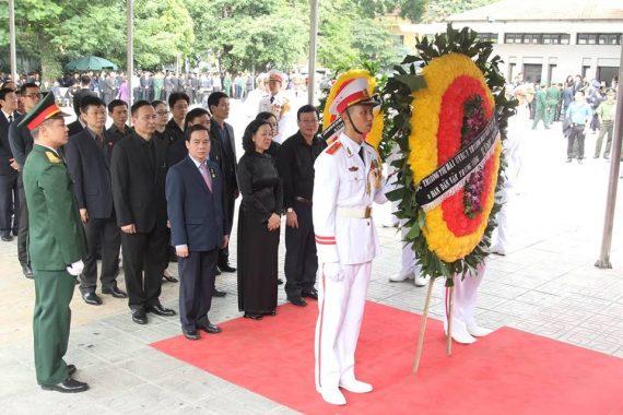 Lễ tang chủ tịch nước trần đại quang
