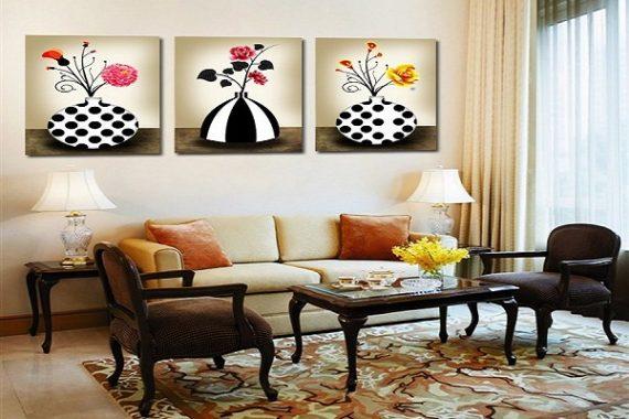 Những bức tranh phong thủy phòng khách
