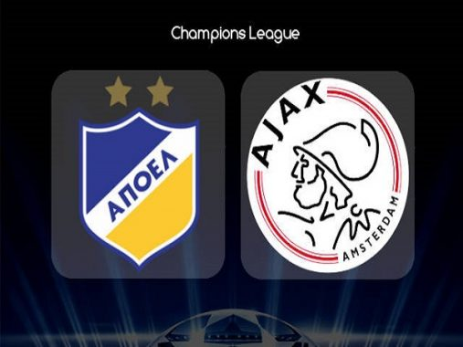 Soi kèo APOEL Nicosia vs Ajax 2h00, 21/08 (Champions League)