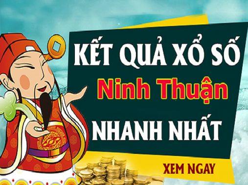Phân tích kết quả xổ số Ninh Thuận chính xác thứ 6 ngày 16/08/2019