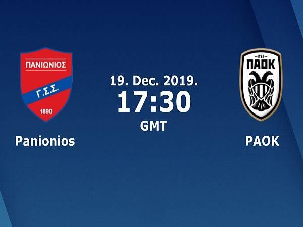 Nhận định kèo Panionios vs PAOK 0h30, 20/12 (VĐQG Hy Lạp)