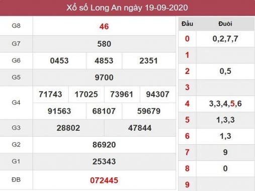 Phân tích kqxs Long An 26/9/2020 chốt số dự đoán kq hôm nay