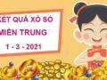Phân tích sổ xố Miền Trung thứ 2 ngày 1/3/2021