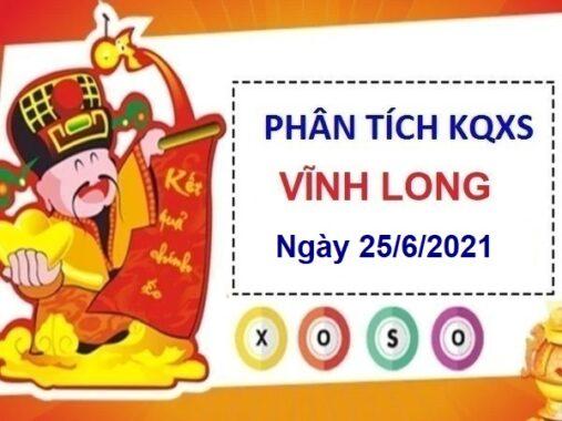 Phân tích KQXSVL ngày 25/6/2021 chốt số đài Vĩnh Long thứ 6
