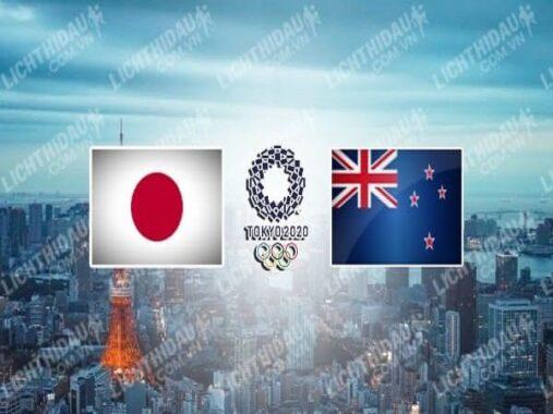 Nhận định U23 Nhật Bản vs U23 New Zealand – 16h00 31/07, Olympic 2020