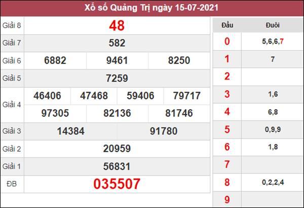 Phân tích XSQT 22/7/2021 chốt lô số đẹp Quảng Trị thứ 5