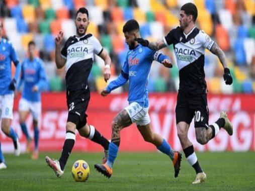 Nhận định tỷ lệ Udinese vs Napoli, 01h45 ngày 21/09 – VĐQG Italia