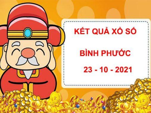Phân tích KQSX Bình Phước thứ 7 ngày 23/10/2021
