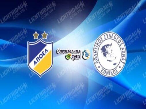 Nhận định APOEL vs Achnas, 23h00 ngày 18/10